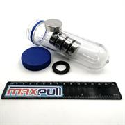 Неодимовые магниты 30х10 мм, диски, MaxPull, набор 5 шт. в тубе