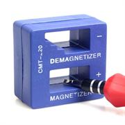 Намагничиватель - размагничиватель инструмента синий