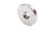 Неодимовый магнит диск 30х3 мм с зенковкой 4,5/7,5
