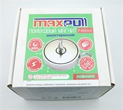 Поисковый магнит F-600х2, двухсторонний, MaxPull