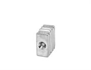 Неодимовый магнит призма 20х10х3 мм с зенковкой 3,5/7 мм