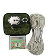 Комплект: Поисковый магнит F-200 MaxPull + сумка + веревка 20м