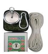 Комплект: Поисковый магнит F-400 MaxPull + сумка + веревка 20м