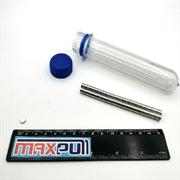 Неодимовые магниты 5х2 мм, диски, MaxPull, набор 100 шт. в тубе