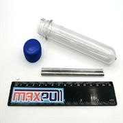 Неодимовые магниты 5х1 мм, диски, MaxPull, набор 200 шт. в тубе