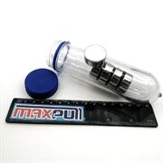 Неодимовые магниты 25х10 мм, диски, MaxPull, набор 5 шт. в тубе